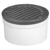"FD2220-AB2 - 2"" ABS, Round, Medium-Duty, Cast Iron, Floor Drain"