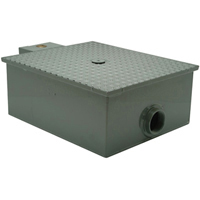 """GT2701-20-3NH -  20 GPM 3"""" No-Hub Low Profile Grease Trap with Flow Control"""