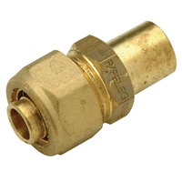 QHA44M - Brass Sweat Adapter
