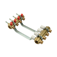 QHAF-9 - Accuflow® Radiant Heating Manifold