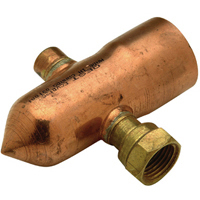 QHCEP8 - Copper Manifold Endpiece