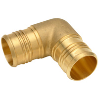 QQE77GX - XL Brass Elbow