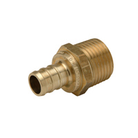 QQMC34GX - XL Brass Male Adapter