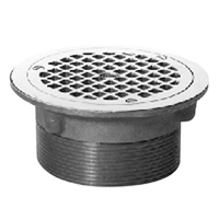 """Z400H """"Type H"""" Round Strainer with Clamp Device"""