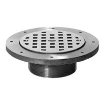"Z400O ""Type O"" Raised Grate Strainer"