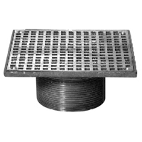 "Z400S ""Type S"" Square Strainer"