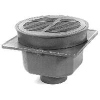 """Z512 12"""" Heavy-Duty Drain with Tractor Grate"""