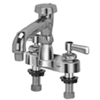 """Z812Q1 - AquaSpec® centerset 6"""" vacuum breaker spout with aerated outlet and lever handles"""