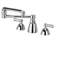 """Z831K1-XL - AquaSpec® widespread faucet with 13"""" double-jointed spout and lever handles (lead free)"""
