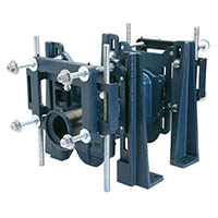 Z1201-ND-XB EZCarry® High Performance Horizontal Back-to-Back Adjustable Siphon Jet No-hub Bariatric Water Closet Carrier – 1,000 lb.