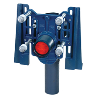 Z1204-N-XH Extra Heavy-Duty 750 lb. Adjustable Vertical Siphon Jet No-Hub Water Closet Carrier