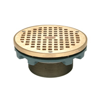 """Z400BZ """"Type BZ"""" Round Leveling Strainer with Square Openings"""