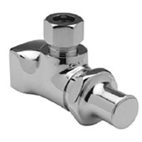 "Z81017-XL - Ceramic Cartridge Qtr Turn Stop (3/8"" COMP x 1/2"" NPT)"
