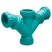 Z9A-YYB Chemical Drainage Combination Double Wye and 45-Degree Elbow