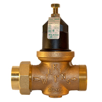 """34-NR3XLDU - 3/4"""" Water Pressure Reducing Valve with Double Union Connections"""