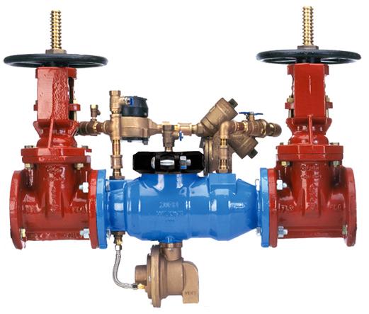6-375DA - Reduced Pressure Detector Backflow Preventer