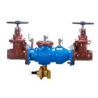 Reduced Pressure Principle Valve Assembly with Integral Relief Valve Monitor Switch