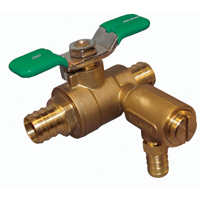 34-BVECXL-125BF - Full Port Brass Ball Valve