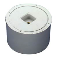 "CO2413-PVC - 3""x4"" PVC Body and Plug"
