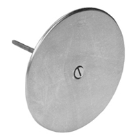"CO2530-SS5 - 5"" Round Stainless Steel Access Cover"