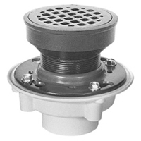 "FD2340-PV3 - 3"" PVC Medium Duty Adjustable Floor Drain"