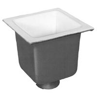 "FD2377-NH2 -  2"" No-Hub Floor Sink Body with 10"" Sump Depth"