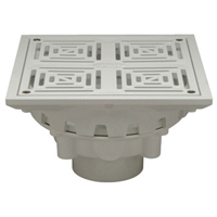"FD2283-PV3 - 3"" PVC Decorative Floor Drain"