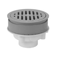 "FD2330-PV3 - 3"" PVC Heavy Duty Adjustable Floor Drain"