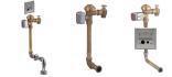 AquaSense® AV Concealed Sensor Operated Battery Powered Flush Valve for Water Closets