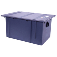 GT2702-07 - 7 GPM Polyethylene Grease Trap with Flow Control