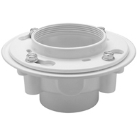 PVC or ABS Drain Adaptor with Clamping Collar
