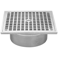 "JP2280-S5  - Nickel Bronze 5"", Square, Strainer Assembly"