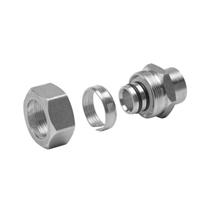 "QHPAPA22F - Alumicor PEX-AL-PEX Compression Adapter - 3/8"" PAP x 3/8"" Female Sweat"