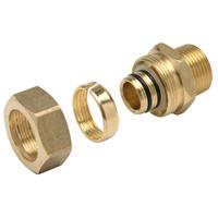 Alumicor PEX-AL-PEX Male Adapter - 1/2