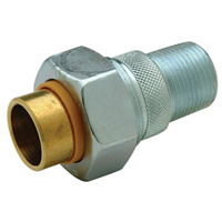 QHWD44MS - Brass Dielectric Union