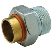 QHWD55F - Brass Dielectric Union