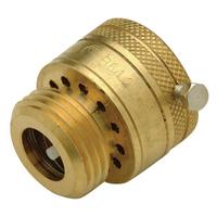 QHWHC4C - Brass Vacuum Breaker