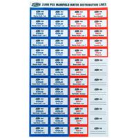 QKLABELS - QickPort® Manifold Indicator Labels