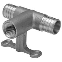 QQFST553GFX - XL Brass (RFS) Sprinkler Head Tee