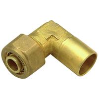 QHAE34F - Brass Sweat Elbow