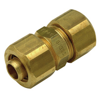 QHCJJC - Brass Compression Coupling