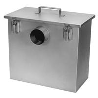 Solids Interceptor with Disposable Filter Bags