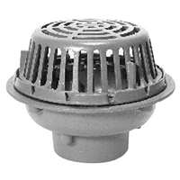 """12"""" Diameter Roof Drain Low Silhouette Dome"""