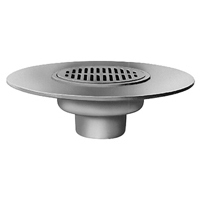 Z1719 Deck Drain with Wide Flange