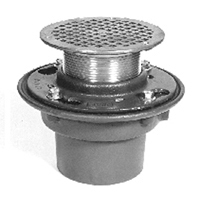 """Floor Drains - Z415b Body Assembly With """"type B"""" Strainer"""