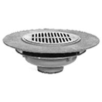 "Z532 12"" Wide Flange Floor Drain"