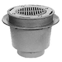 "Z538 12"" Medium-Duty Drain with Deep Sump/Sur-Set Bucket"
