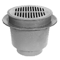 "Z539 12"" Heavy-Duty Drain with Deep Sump"