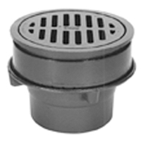"Z556 8"" Adjustable Heavy-Duty Drain"