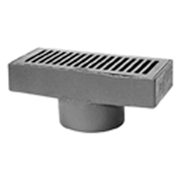 "Z575 6"" X 12"" Medium-Duty Gutter Drain"